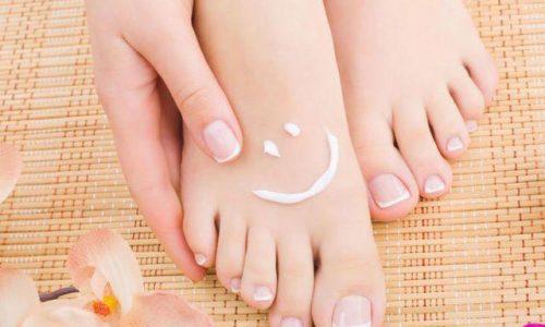 Spa plástica nos pés